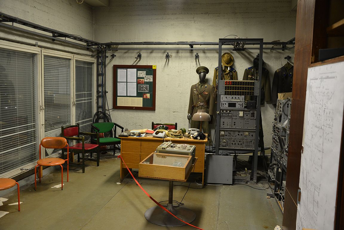 KGB:n huone 23. kerroksessa.