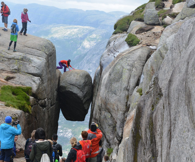 Norjan parhaat vaellusreitit - Kjerag