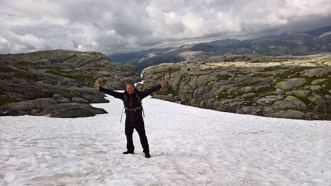 Vaeltaminen Norjassa on upeaa!