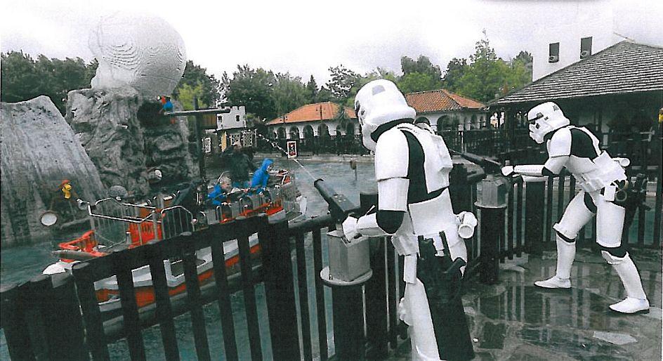 Star Wars teemapäivää vietetään Legolandisa keväisin copyright Legoland.