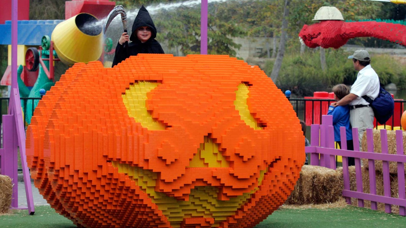 Halloween Legolandissa @ copyright Legoland.