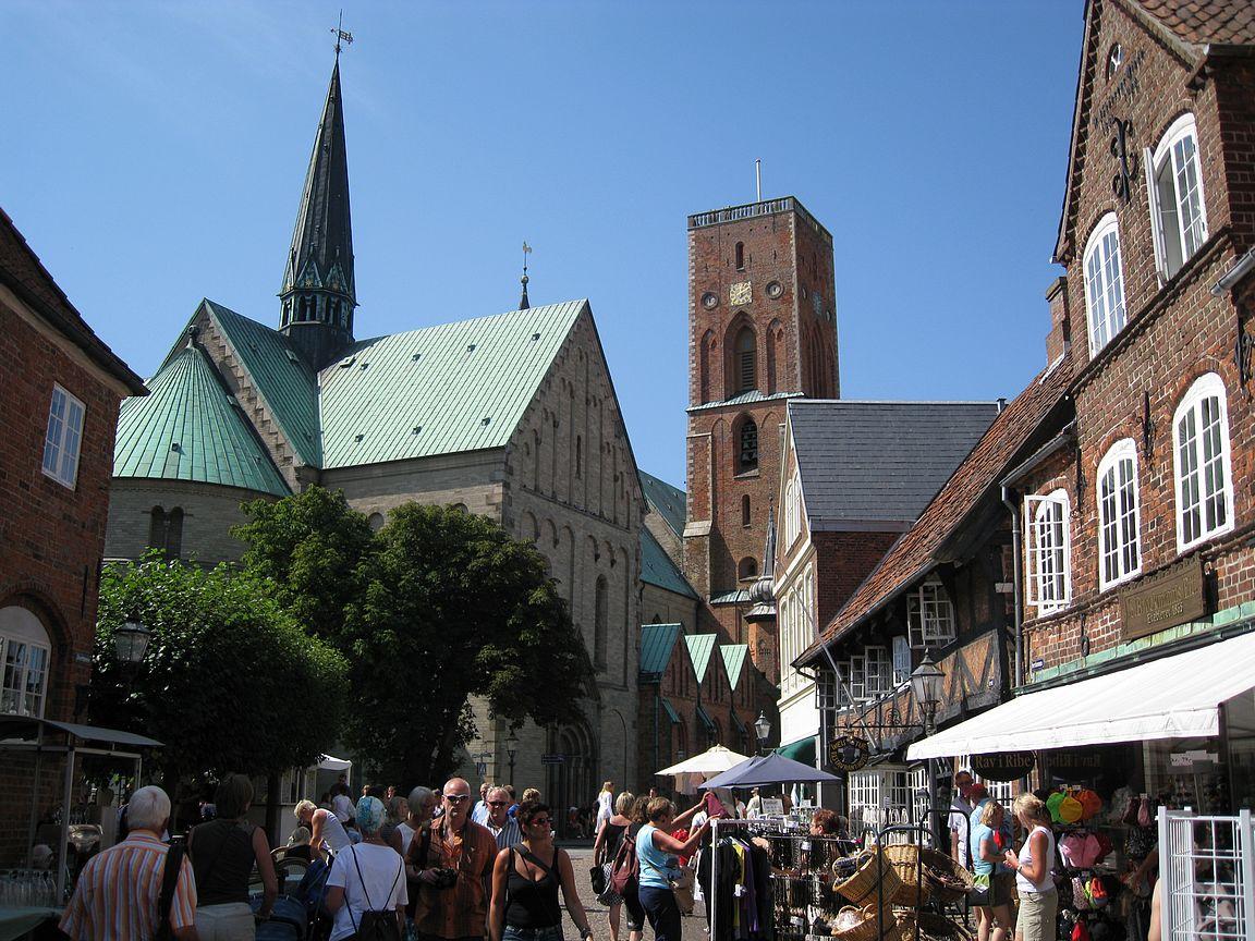 Ribe on Tanskan vanhin kaupunki.