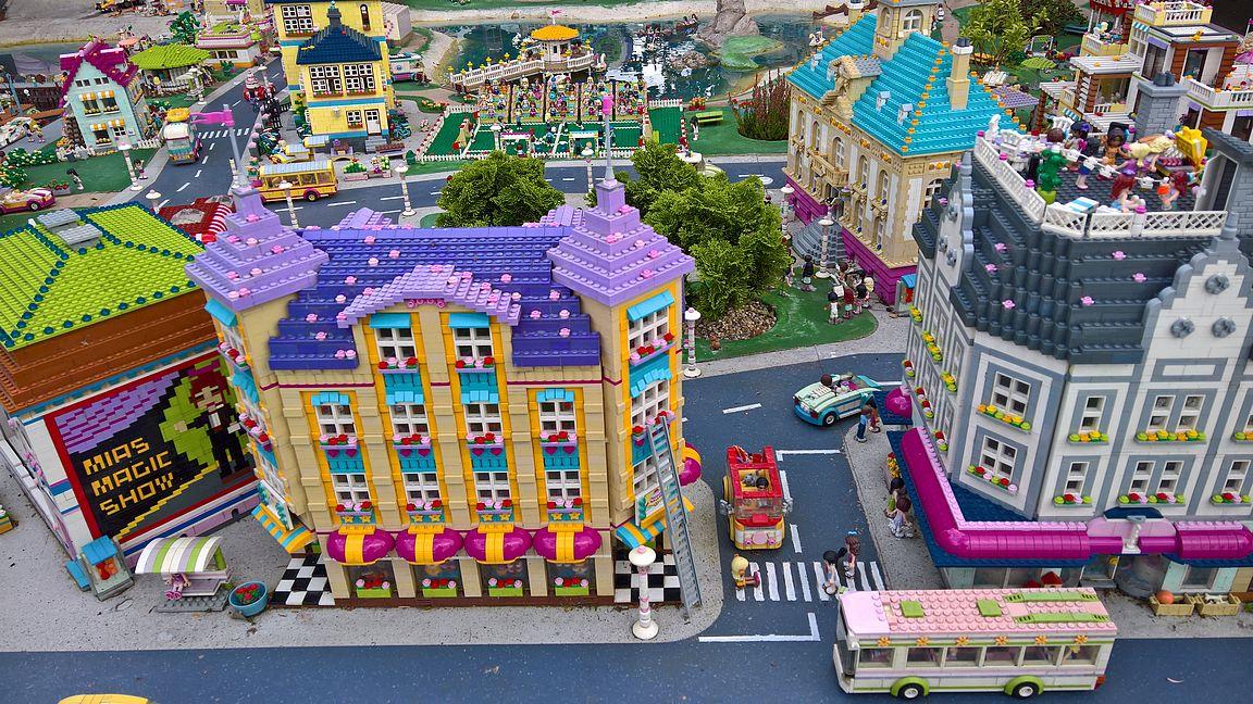 Lego Friendsin Heartlake City on monen tytön suosikki minimaassa.