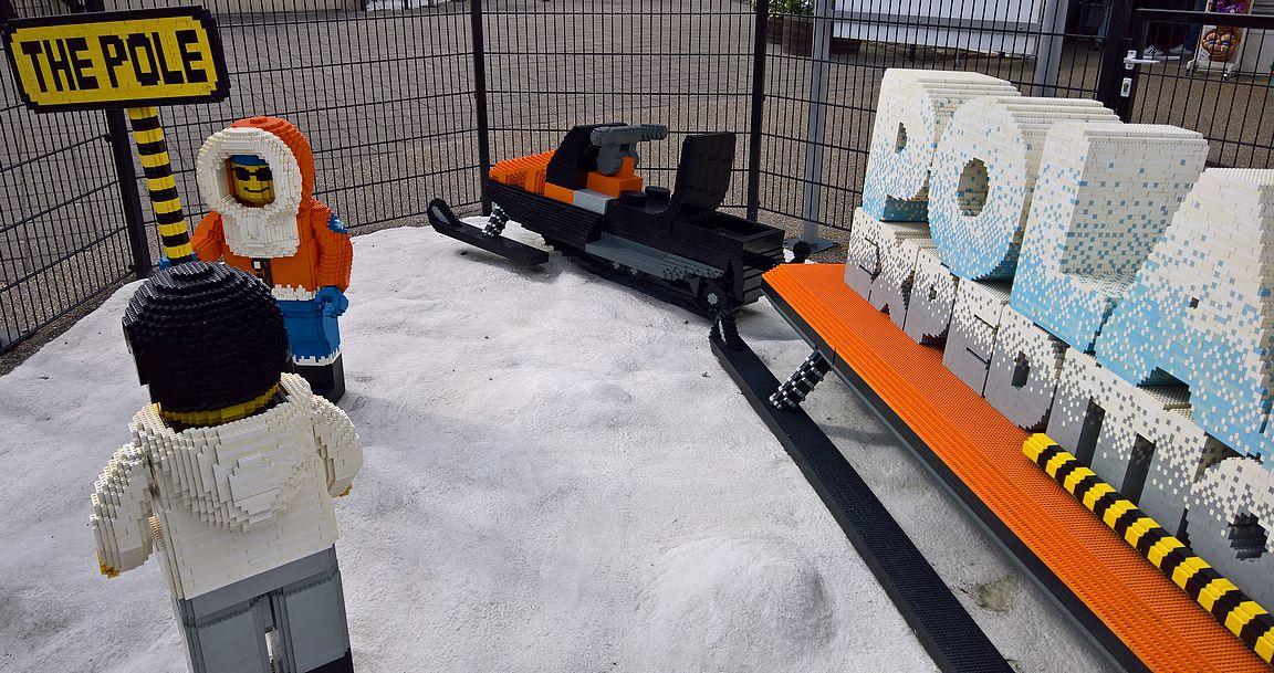 Polar X-plorer - Legolandin paras vuoristorata.