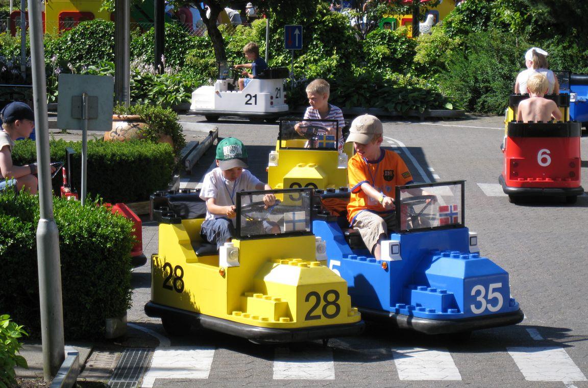 Traffic School on ollut Legolandin tunnuslaite jo vuosikymmenien ajan.