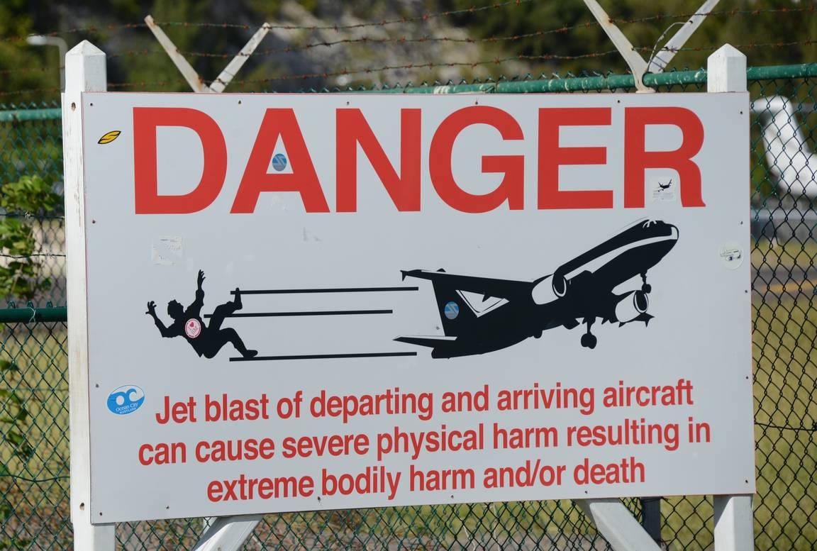Varoituskylttiä ei pidä väheksyä.