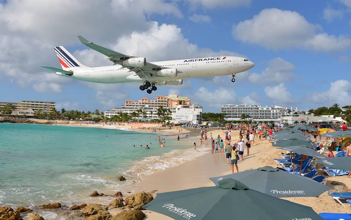 Maho Beach - St. Maartenin ykkösnähtävyys