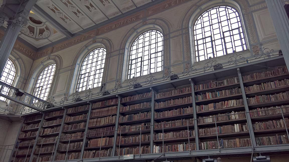Bibliothèque Scholcher.