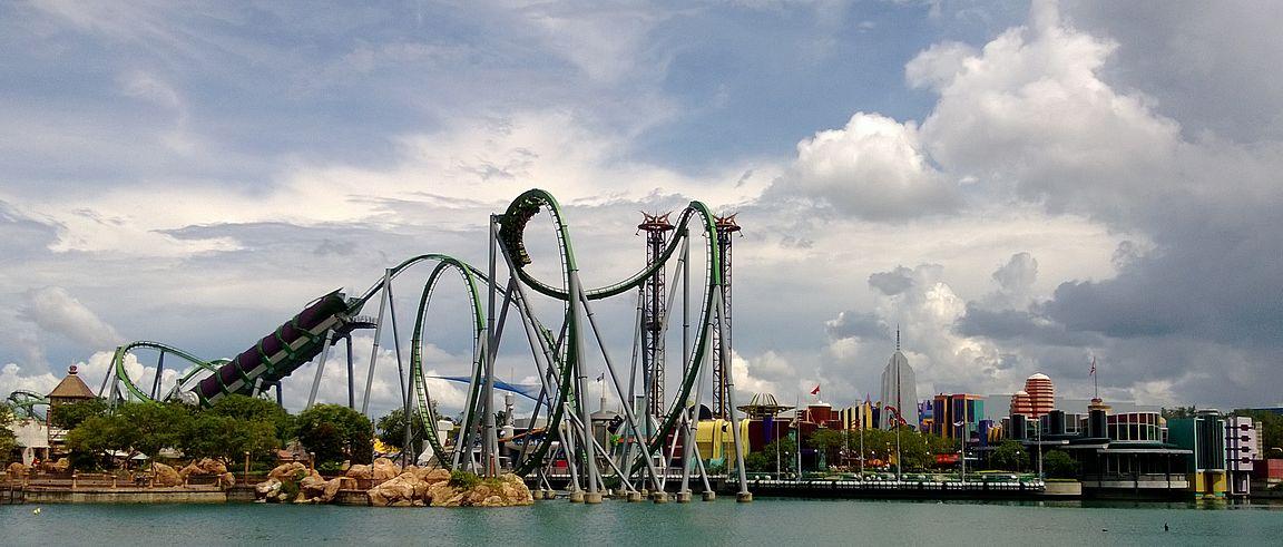 Orlandossa on maailman paras huvipuistokeskittymä.