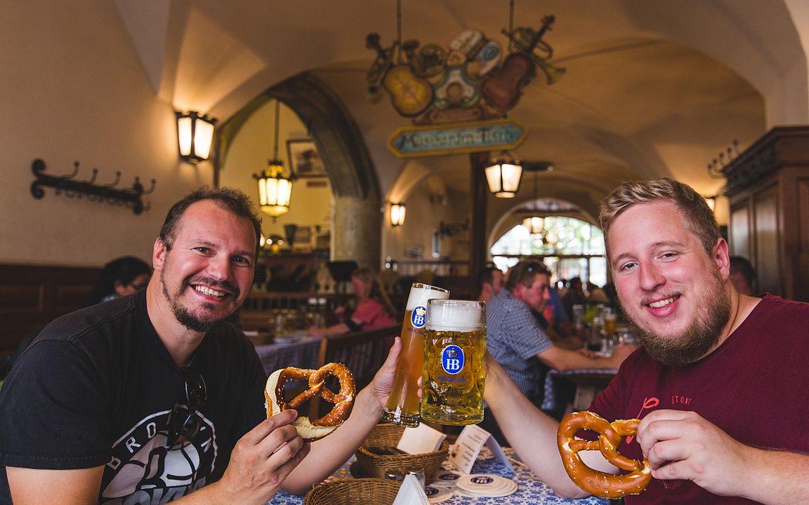Münchenin oluttuvat vetävät vierailijoita puoleensa.