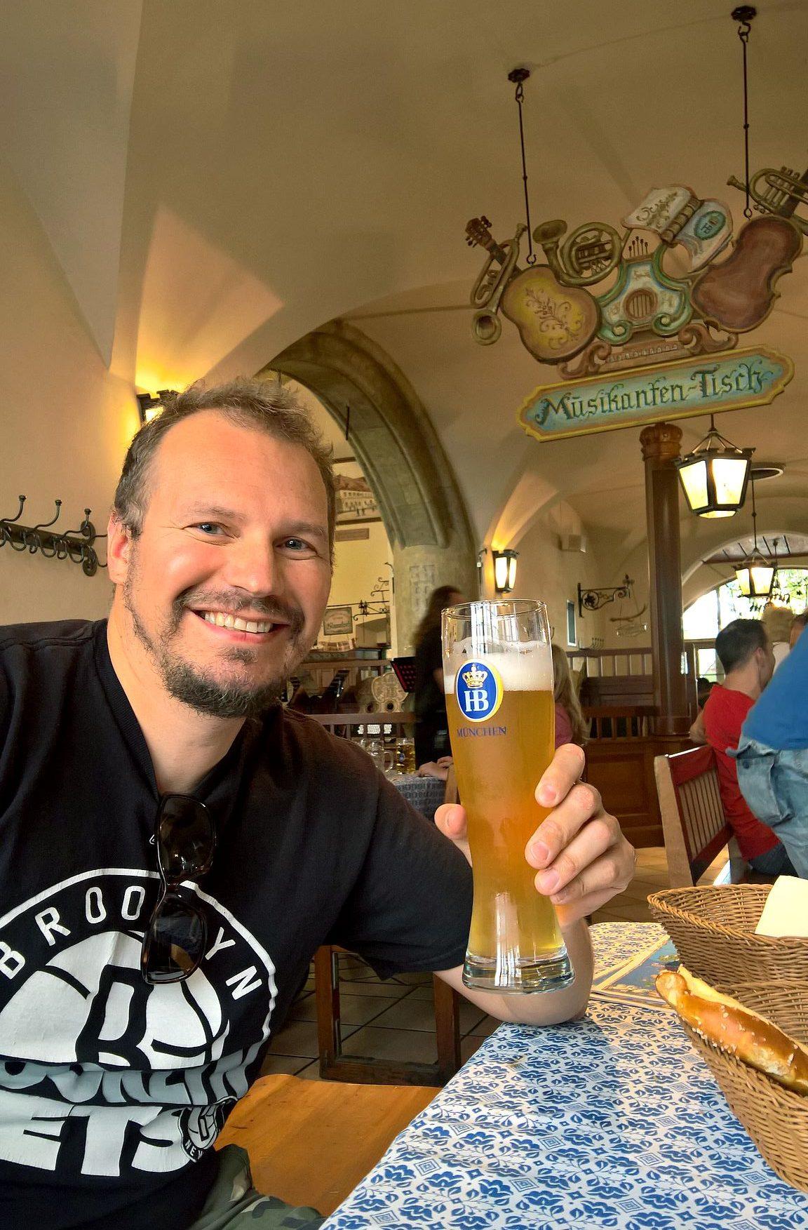 München ja vehnäolut on toimiva yhdistelmä - suosittelen!