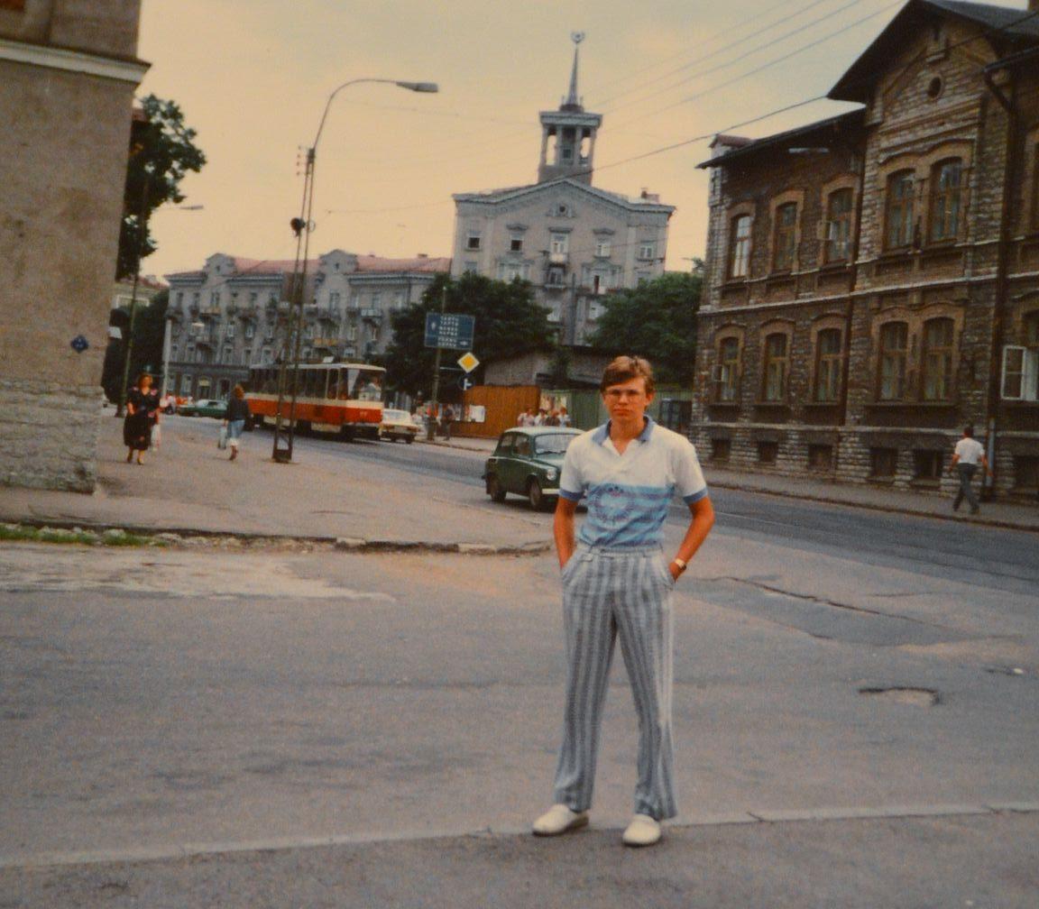 Ensikosketus Tallinnaan oli Neuvostoliiton aikaan.