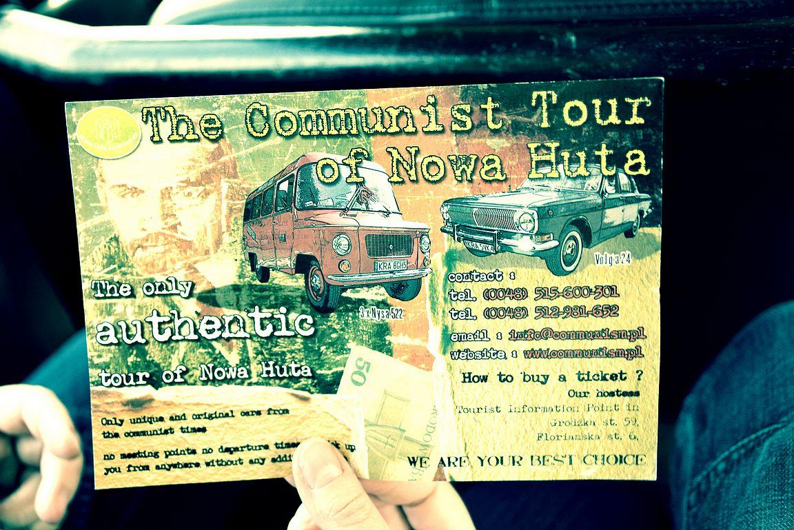 Nowa Hutan kommunismi tour voi alkaa.
