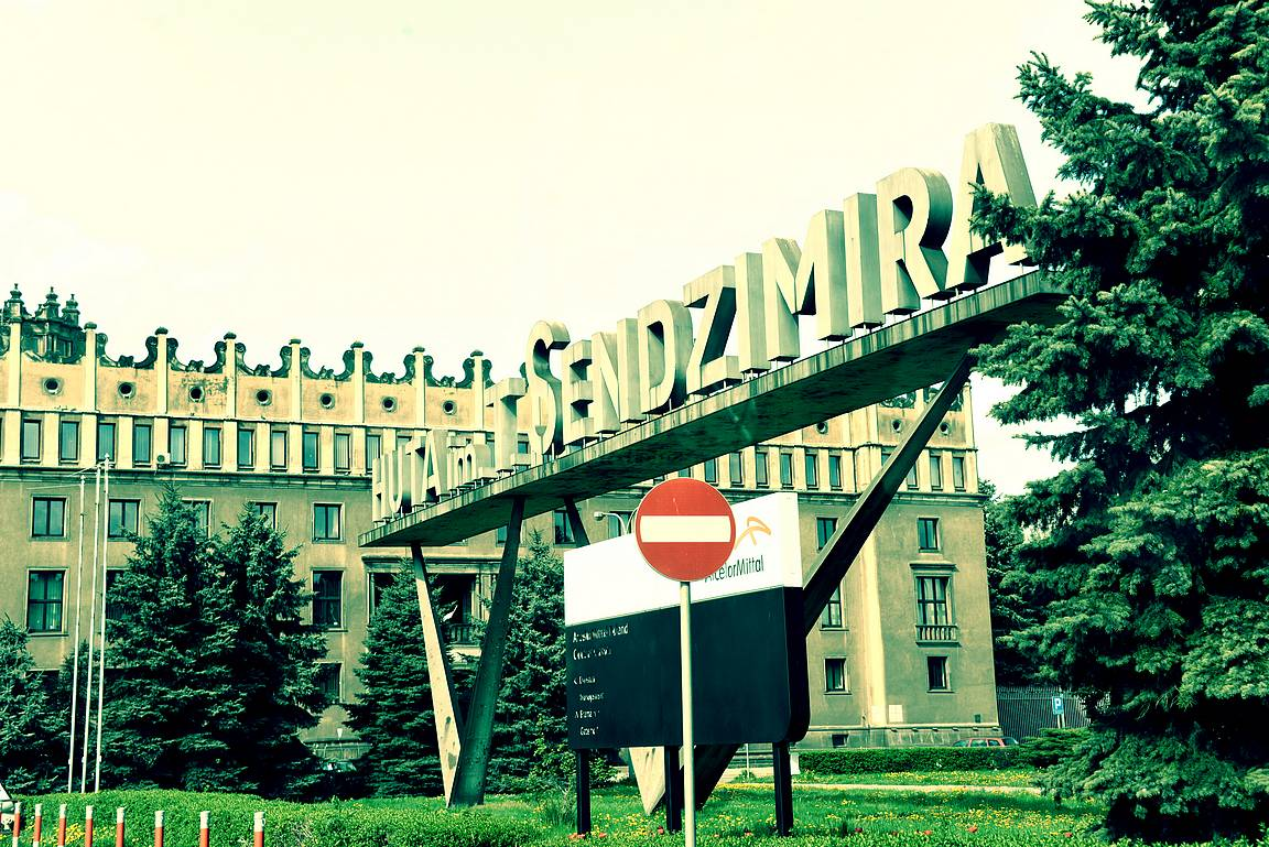Tadeuz Sendimir -terästehdas, entinen Leninin terästehdas - Nowa Huta.