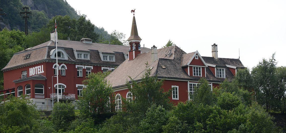 Tyssedal Hotel.