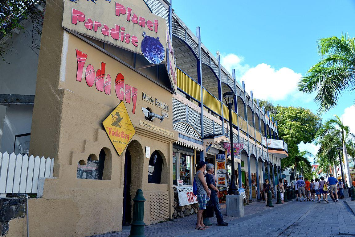 Yoda Guy -museo Front Streetillä.