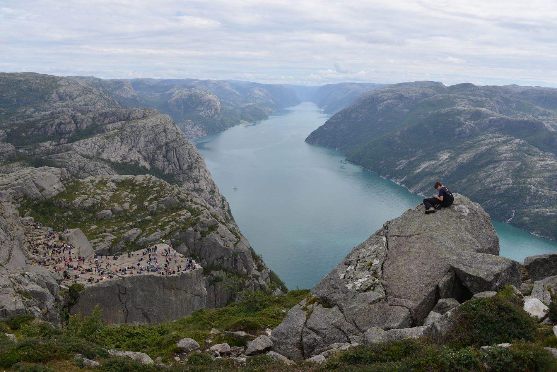 Norjan parhaat vaellusreitit - Preikestolen