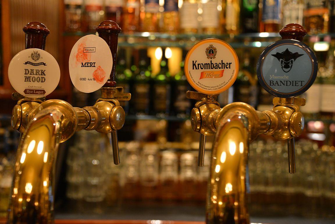 Punavuoren olutravintoloista löydät erinomaisia hanaoluita...