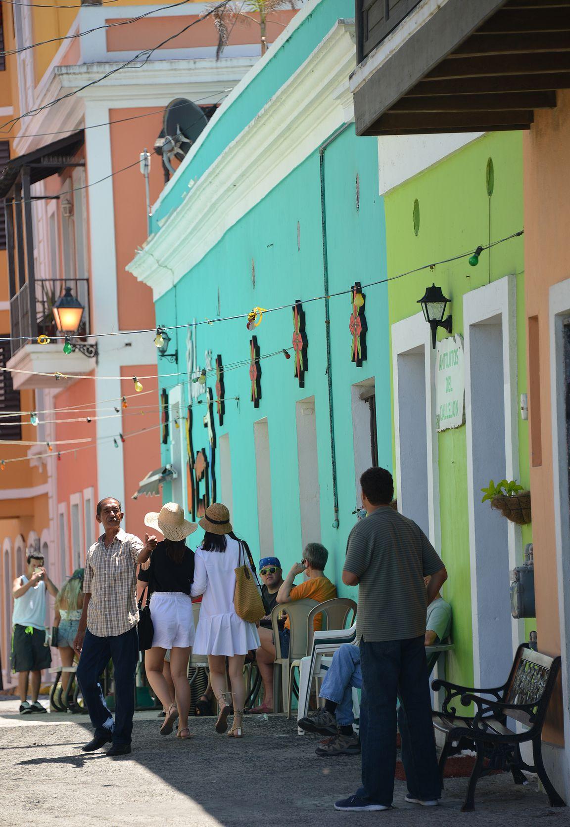 San Juanin vanhakaupunki on Karibian alueen helmi.