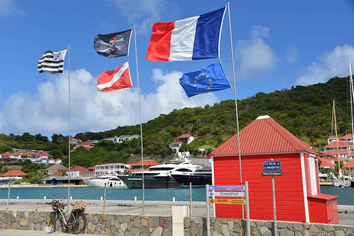 Gustavia on St. Bartsin pääkaupunki.