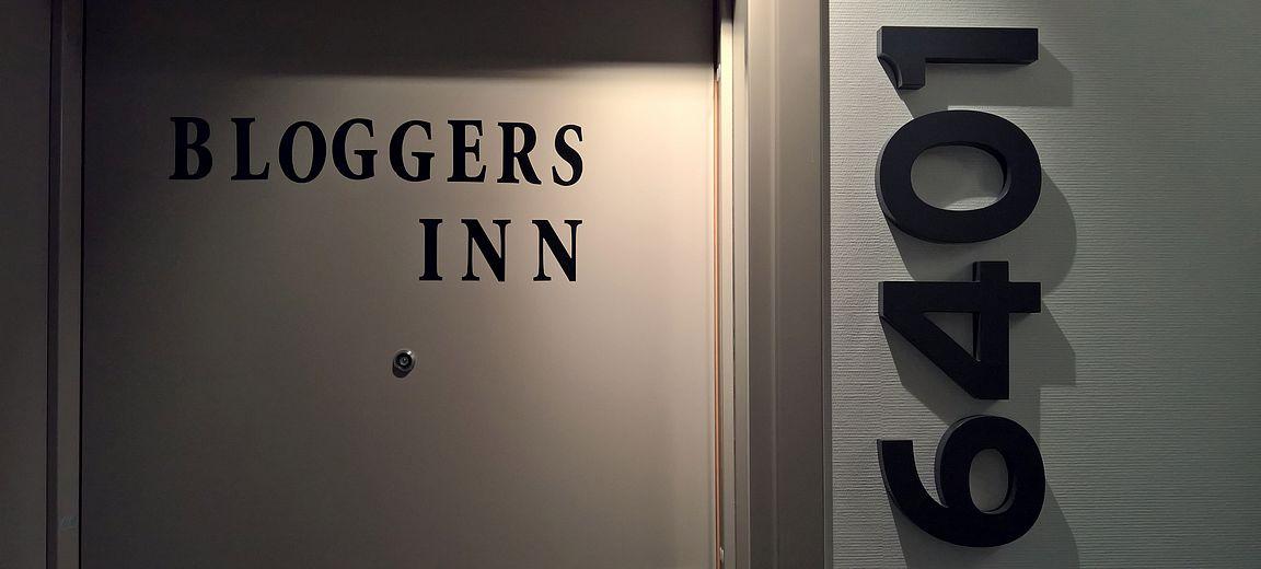 Bloggers Inn - 6401 - sain kattohuoneiston blogiyhteistyön kautta.