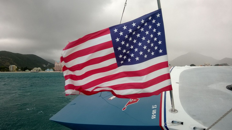 St. Marteen - purjehdusretki America's Cupin voittajaveneellä