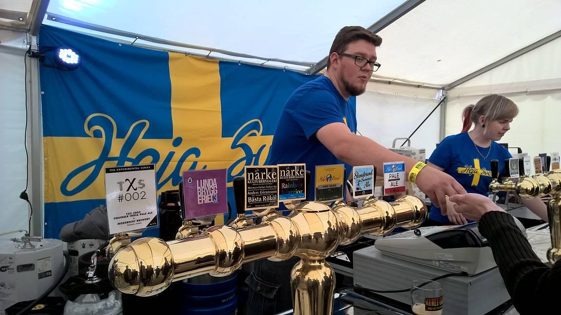 Helsingissä todennäköisesti tarjolla tänäkin vuonna oluita myös Suomen rajojen ulkopuolelta.