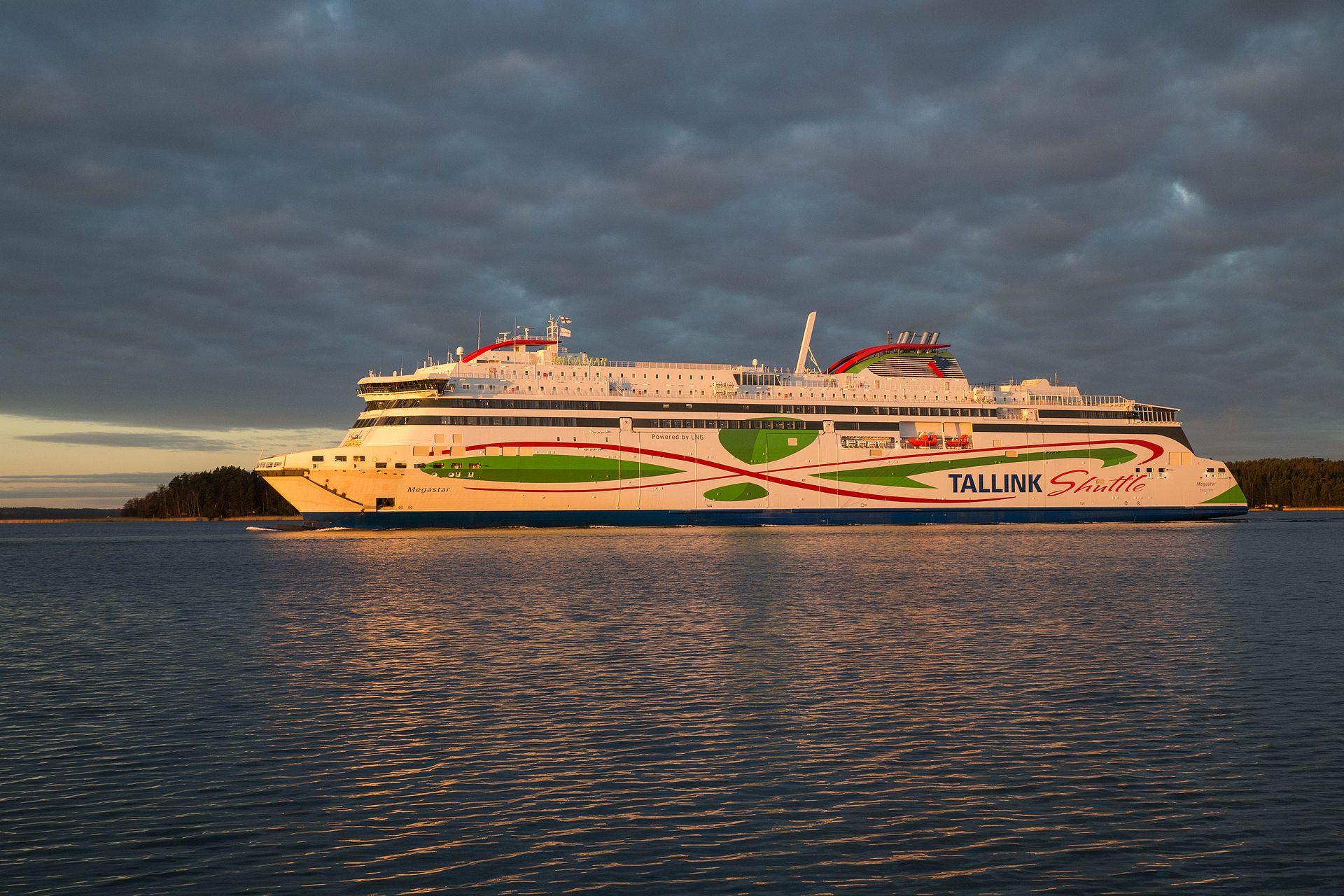 Tallink Megastar aloittaa liikennöinnin tänään välillä Helsinki-Tallinna copyright Tallink Silja