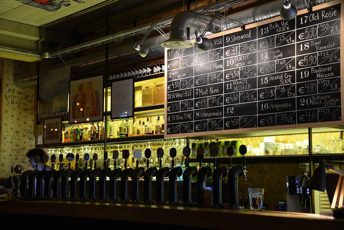 St. Vitus on yksi Tallinnan parhaista olutravintoloista.