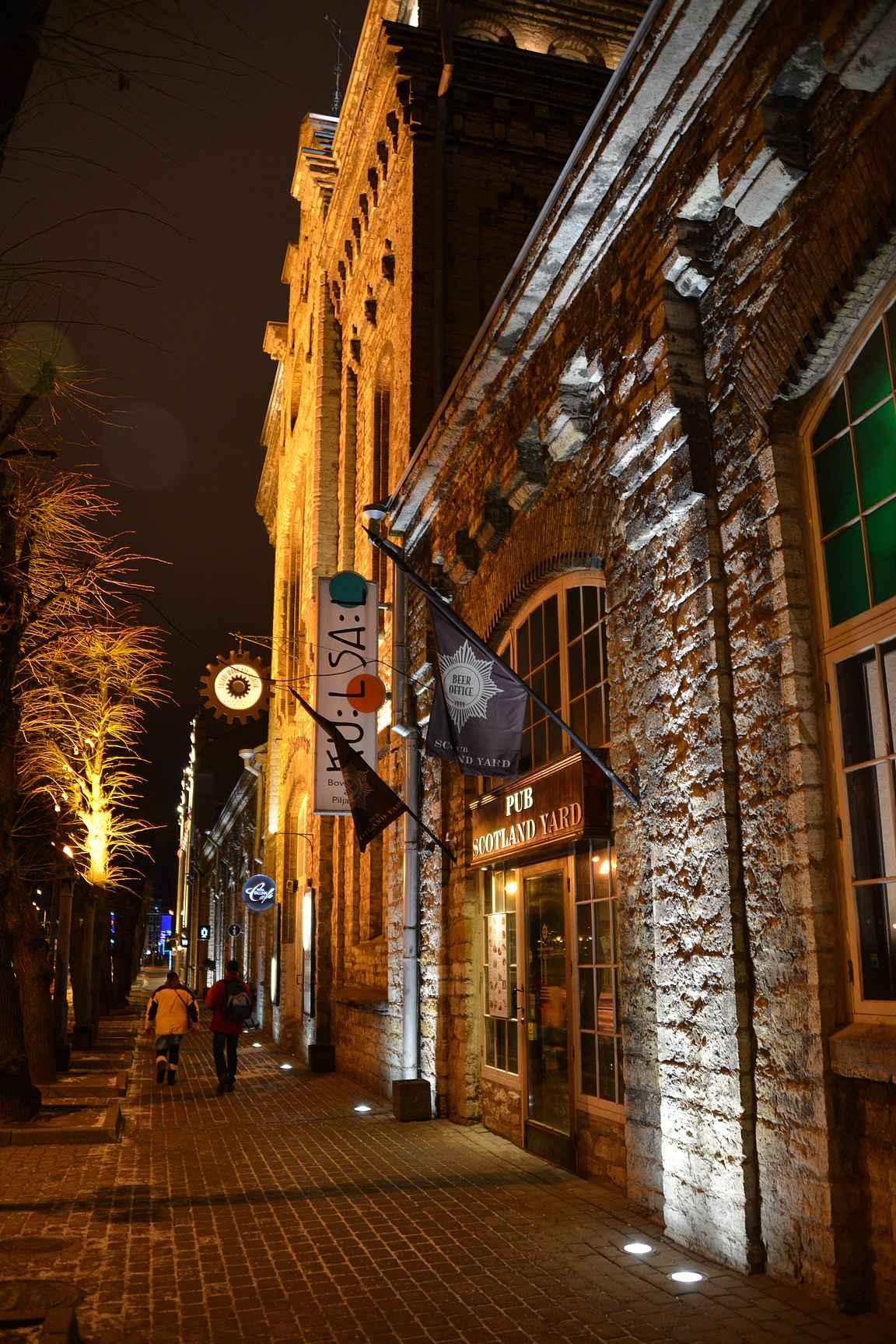 Scotland Yard Pub on Rotermannin laadukkaiden ruokaravintoloiden jatkeena.