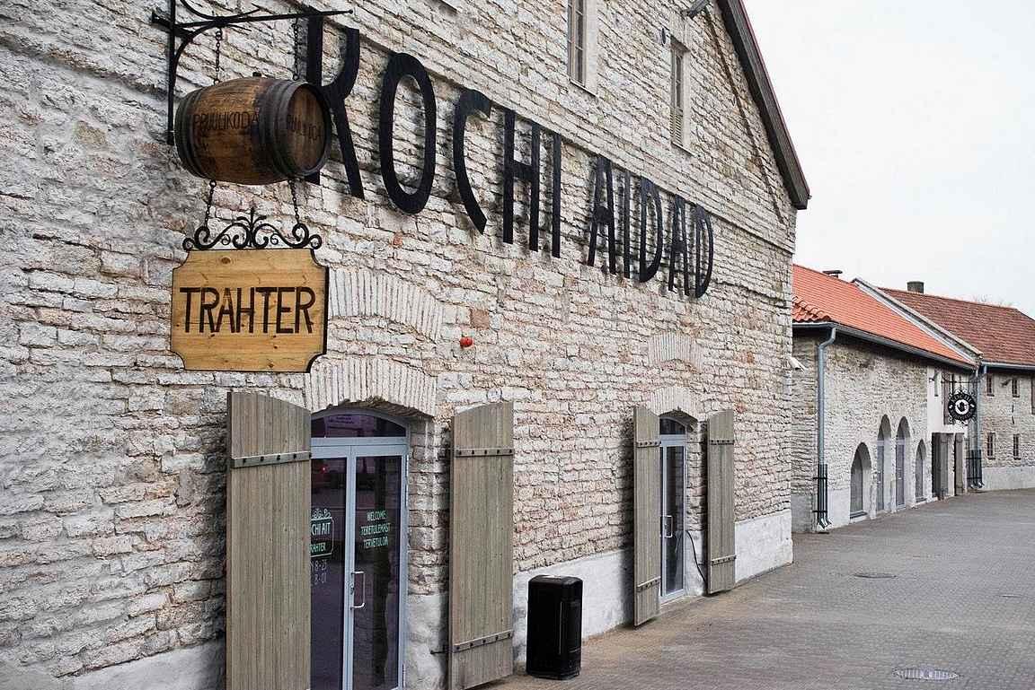 Kochi Aidad on ollut jo pidempään Tallinnan satama-alueen vetonaula olutravintolaa etsiessä.