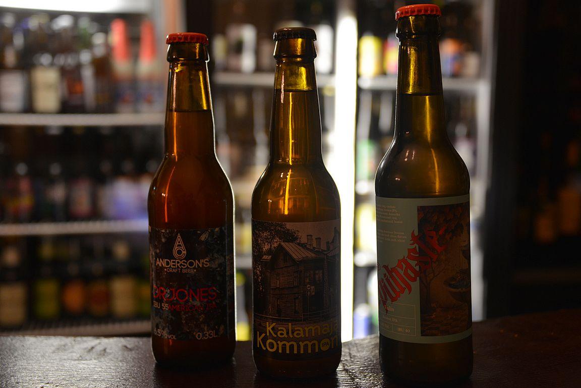 Pienpanimo kulttuuri on todella vahvaa Virossa ja Tallinnan olutravintolat tarjoavat siihen erinomaisen tutustumismahdollisuuden.
