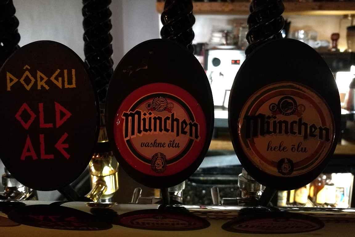 Tallinnan parhaiden olutravintoloiden hanat kutsuvat lyhyen laivamatkan päässä suomalaisia olutharrastajia.