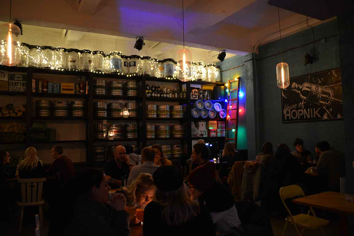Pudel Baar on ollut jo vuosia Telliskiven ykkösolutravintola.