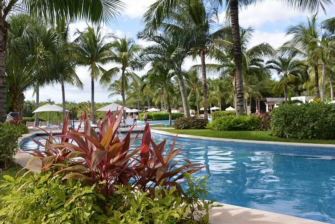 Playa Paraison alueella on upeita hotelleja.