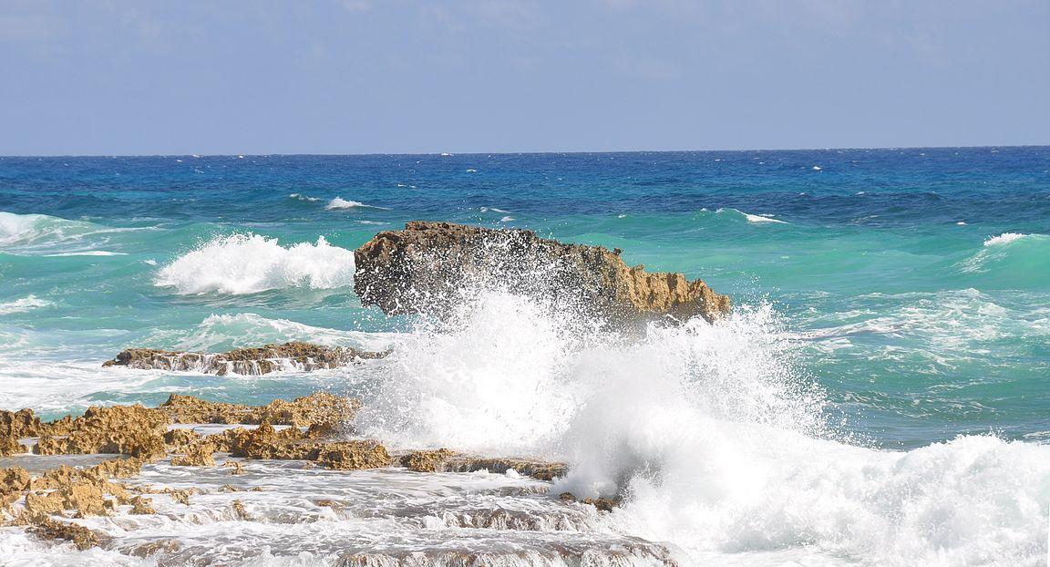 Cozumelin saaren ympäri ajellessa näkee upeita maisemia.