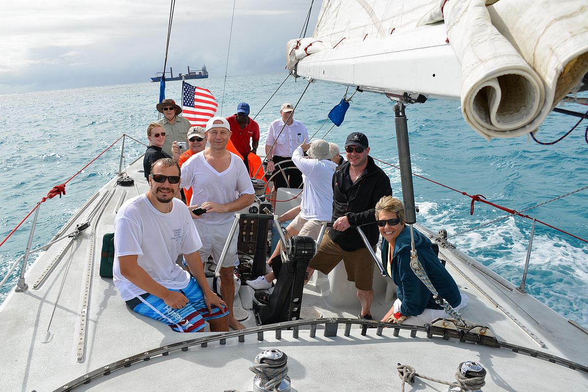 Harvoin purjehdusuraa ensikertalaiset pääseevät aloittamaan suoraan America's Cupin voittajaveneellä!