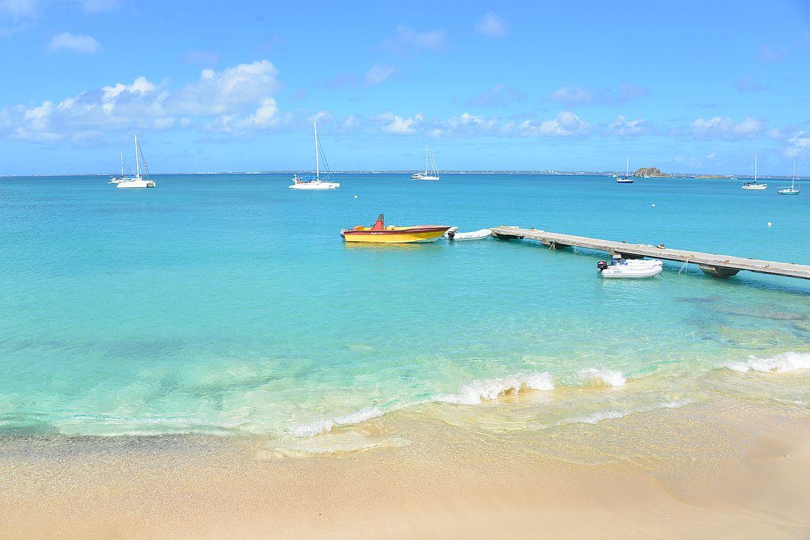 Grand-Caselta on mukavat näkymät Anguillan saarelle.