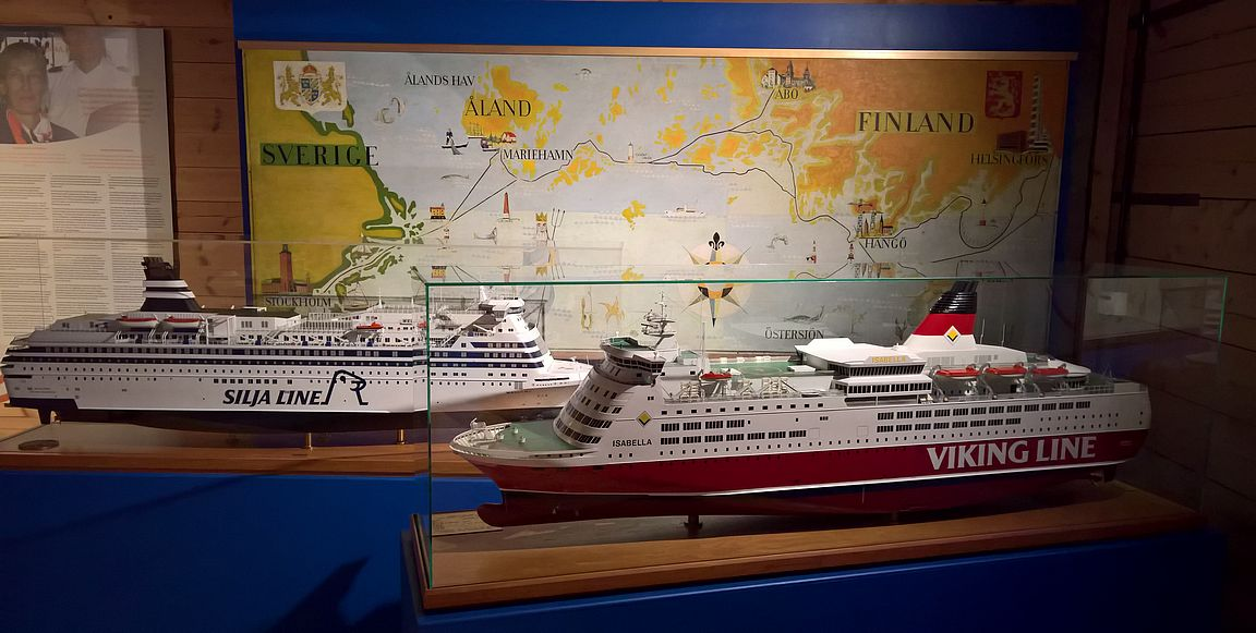 Silja Line ja Viking Line - suurta suomalaista merenkulun historiaa ja nykypäivää.