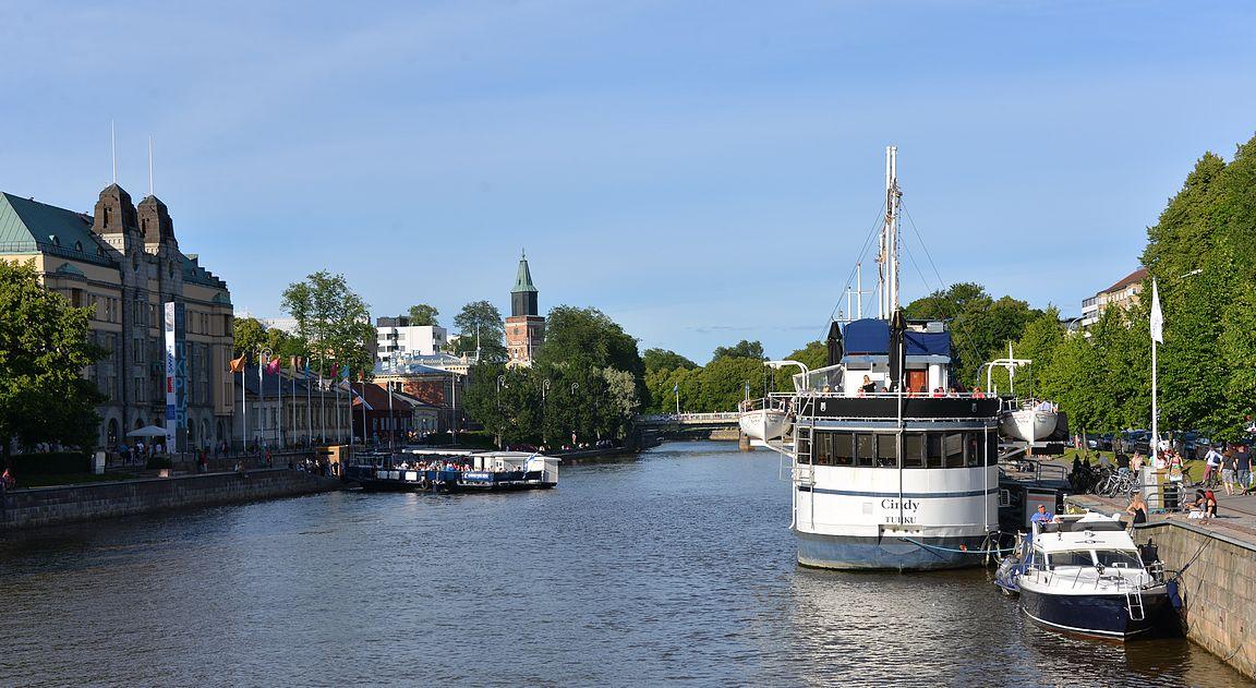 Turku on yhtä kuin Aurajoki, aika monelle.