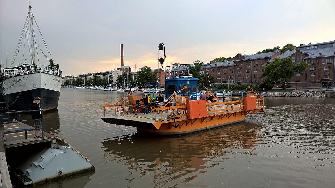 Föri - ei Turussa ilman laivamatkaa.