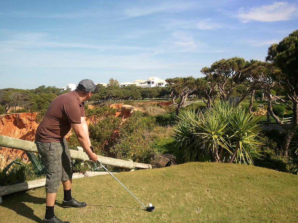 Golfin pelaajat ymmärtävät reiän kauneuden.