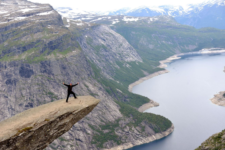 Norjan parhaat vaellusreitit - Trolltunga