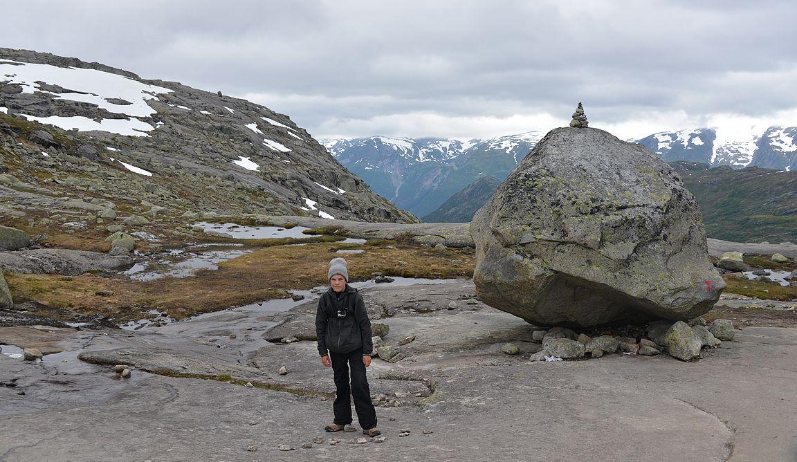 Loppunousu neljään ja puoleen kilometriin mentiin kilometrin pituisella kalliopätkällä.