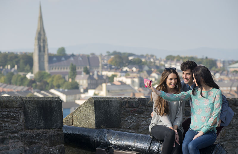 Derry City Walls copyright Tourism Ireland