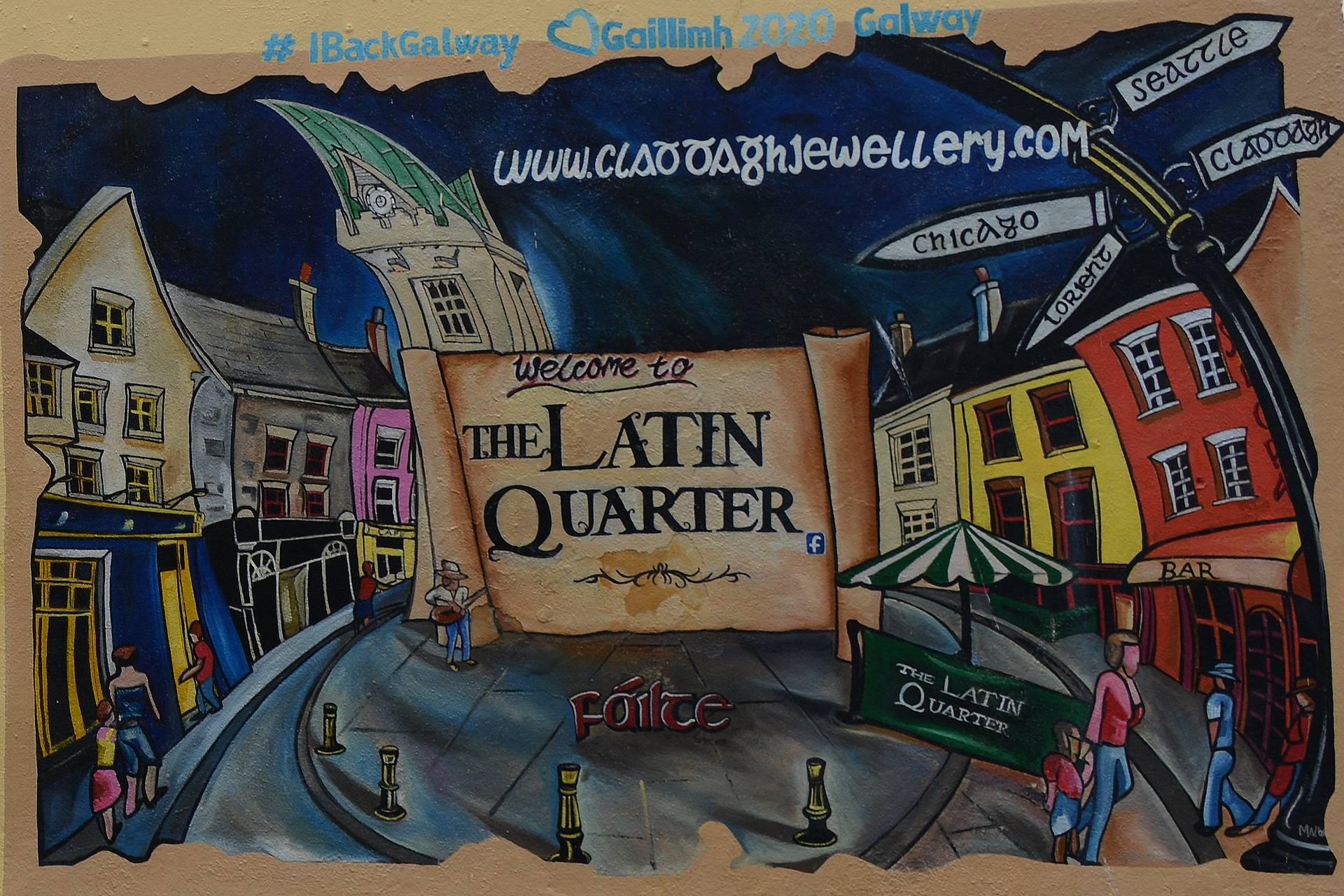 The Latin Quarter on täynnä erinomaisia pubeja.