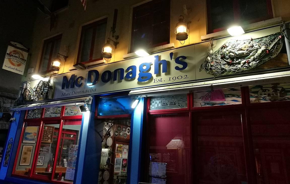 McDonagh's ja fish and chips.