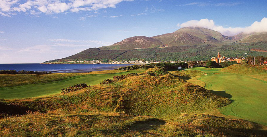 Royal County Down - The Championship Course copyright Royal County Down.