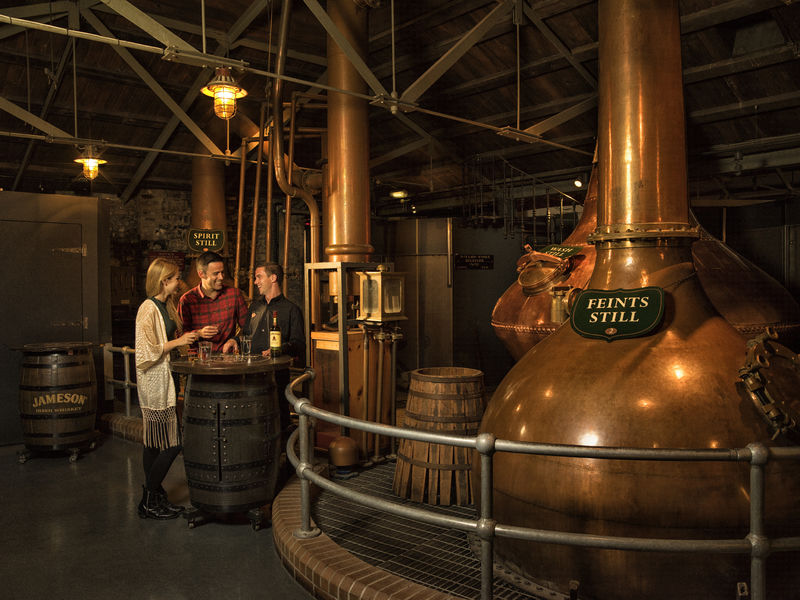 Old Jameson Distillery copyright Tourism Ireland