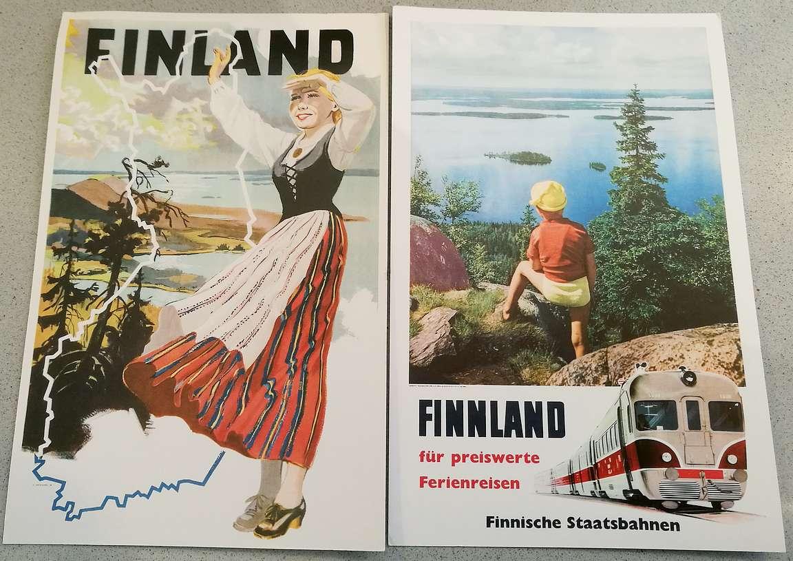 Tällä maisemalla Suomea on markkinoitu maailmalle jo vuosikymmeniä.